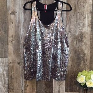 Topia Tops - 1X  Gorgeous Sparkle Top by Tooia